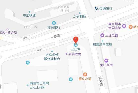a0428出租三江菜场对面3个房间,简单装修,租1500元/月