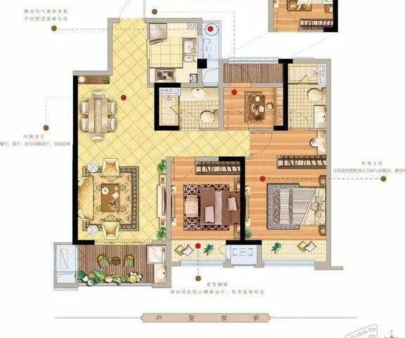 【嵊州新城香悦半岛】27#揽江力作108m²户型 | 每一平米的雕琢,都是对品质生活的升华