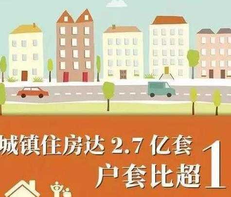 2.7亿套!户均套数1.13套,中国人的房子太多了?