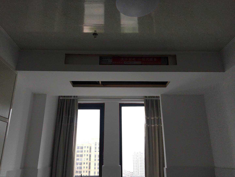01171租吾悦广场1208楼,44平方,一室一厅一厨一卫,精装修 空调是中央空调的实拍照片