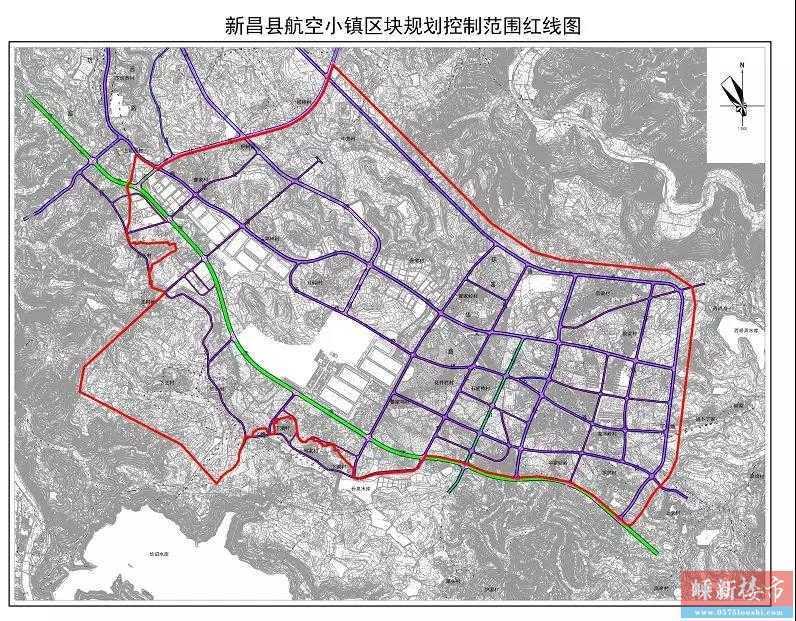 重磅!又有一批拆迁……新昌这2个地方红线控制范围公布