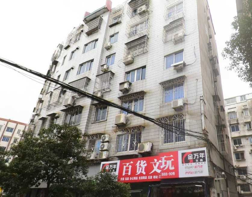 三江新村4楼,简装修,两室一厅一厨一卫,71平方,家电齐全,1100/月