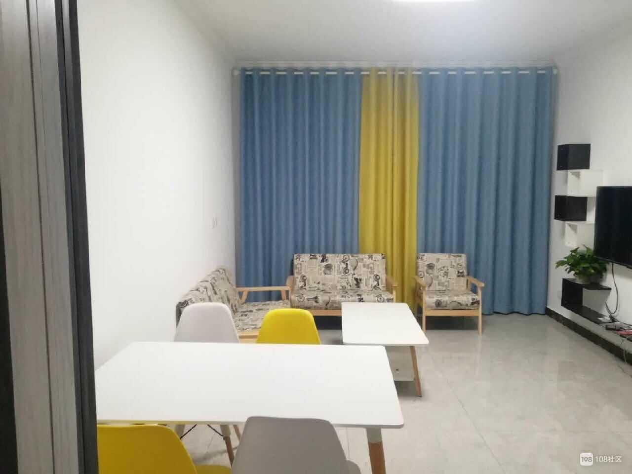 05157. 玉山公馆15楼出租,三室两厅一厨一卫,精装修,自住标准的实拍照片