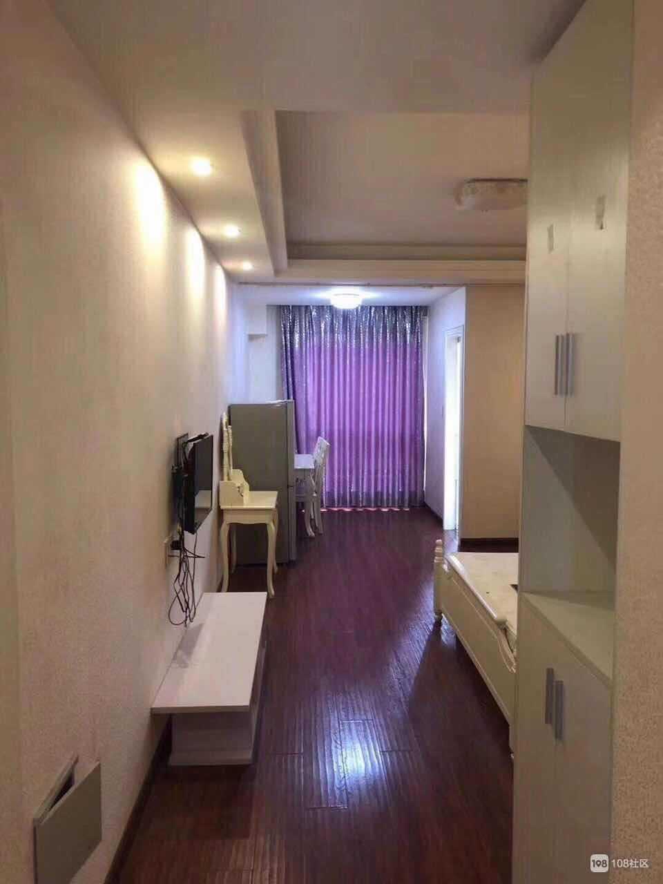 05307出租:金樽单身公寓 9楼 45平方 朝南精装修 拎包入住 ,家具家电齐全,1800/月 物业费房东出。 付六押一的实拍照片