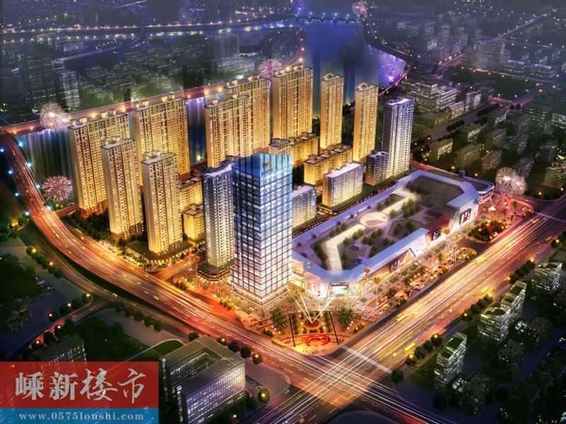 06044 出售 吾悦广场26楼东边套,125平方三室两厅,精装修的实拍照片