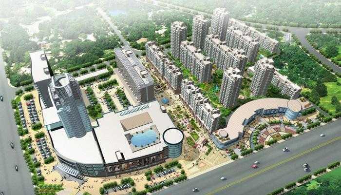06041出售吾悦广场二套都精装修的三室两厅二卫、东边套的实拍照片