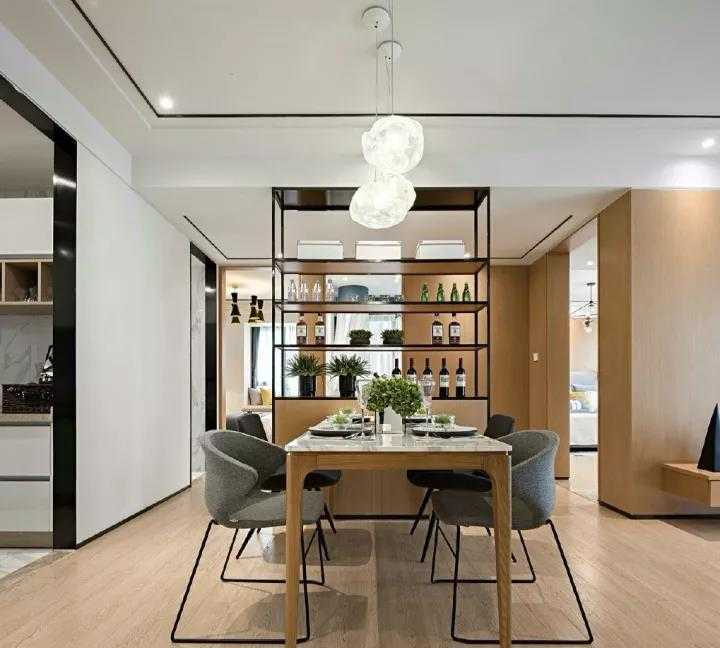 97㎡两居室装修,惬意温馨的居家氛围