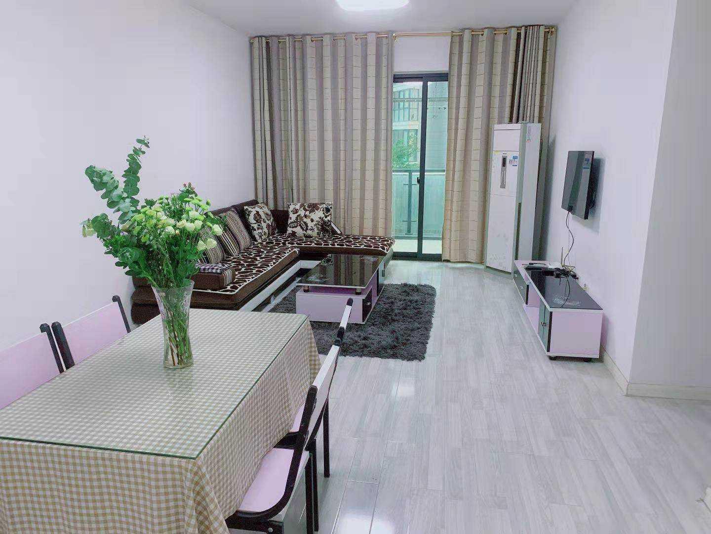 06123.出租正大新世界3楼,89平方,2700一月,二室二厅一厨一卫的实拍照片