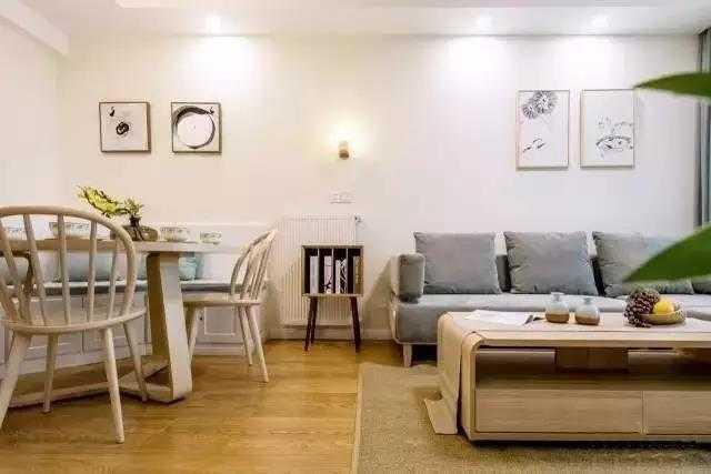 90㎡混搭两居室,加点中式元素,将空间合理利用!