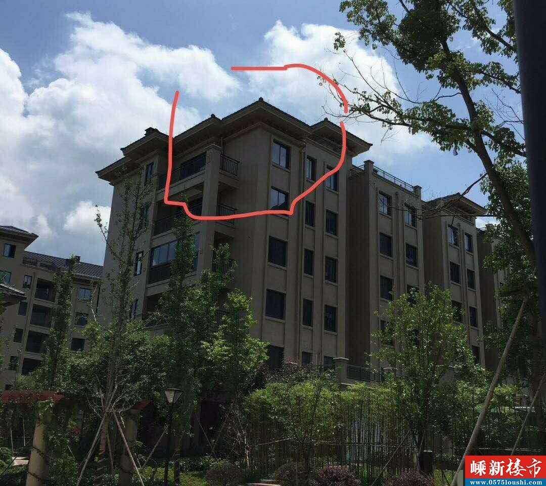 07312出售剡溪一品跃层东边套,6室2厅2卫,毛坯,181平方,实际面积200多个平方