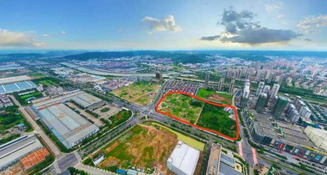剛剛,七星街道廟前地地塊拍賣結束,成交價4億多,樓面價多少?