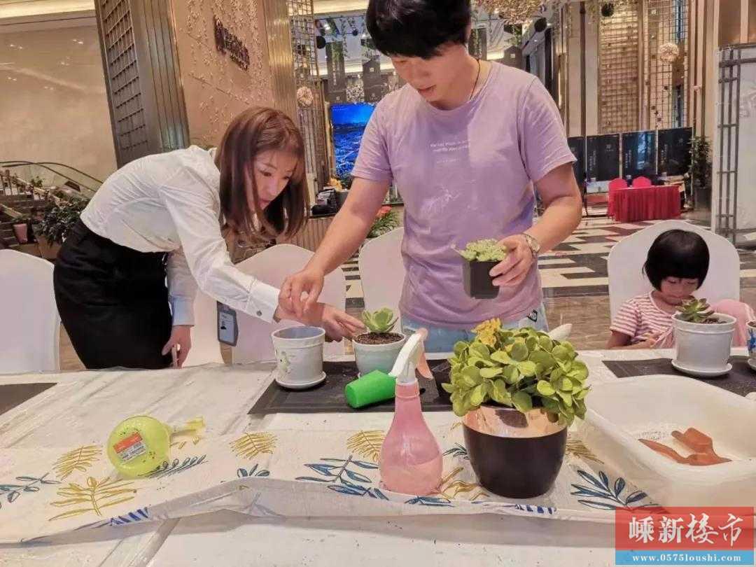 多肉植物DIY | 绿动澜湾 · 畅意无限,亲子DIY活动圆满落幕~