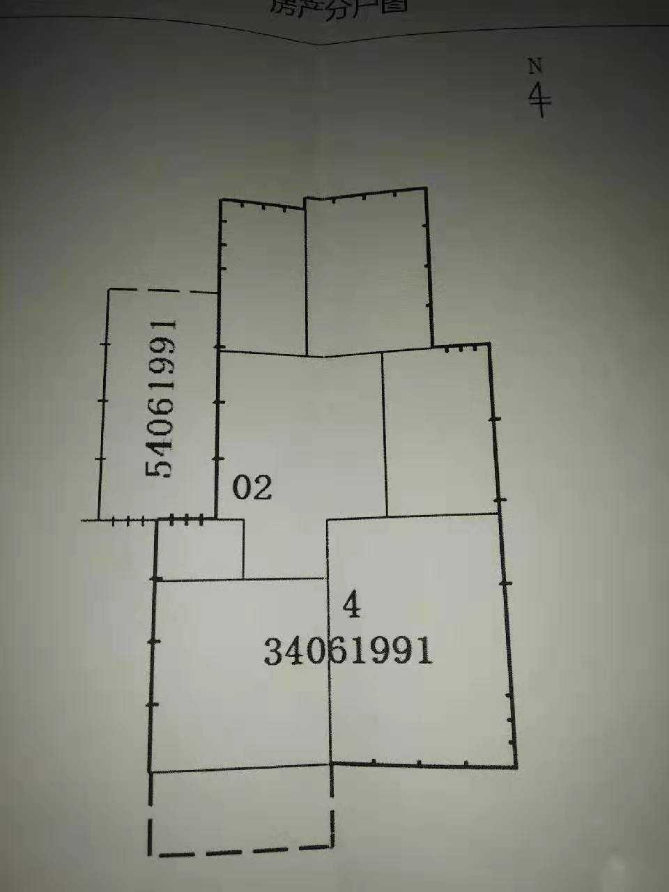09097出售城北官河里,四楼,总高六楼 三室两厅,中装修  82平方,车棚一个,城北城关随时可读,65.5万的实拍照片
