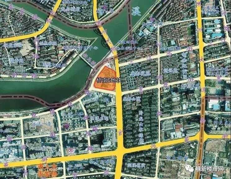 成交价1.6亿元!城南新区嵊州大桥旁这宗土地成功出让,看看是哪位大鳄入驻了?
