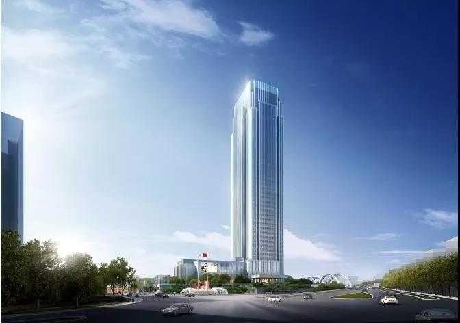 高大上!开元五星级酒店落户嵊州!拟建设成嵊新地区的第一高楼,打造嵊州城市地标。