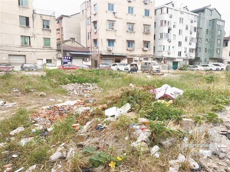 直击——下元塘社区这处空地变成了垃圾场