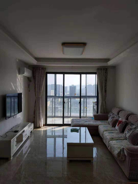 1112出租正大新世界7樓89方精裝修2-2-1  租金2800元/月(含物業費)的實拍照片