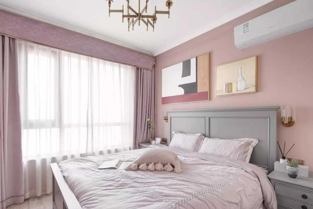 【装修精选】80㎡清新美式2室2厅,细节之处洋溢优雅气质
