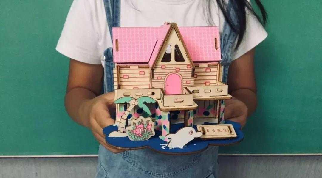 嵊州勤业·阳光龙庭|活动预告 | 3D模型DIY,拼出小小梦想家!