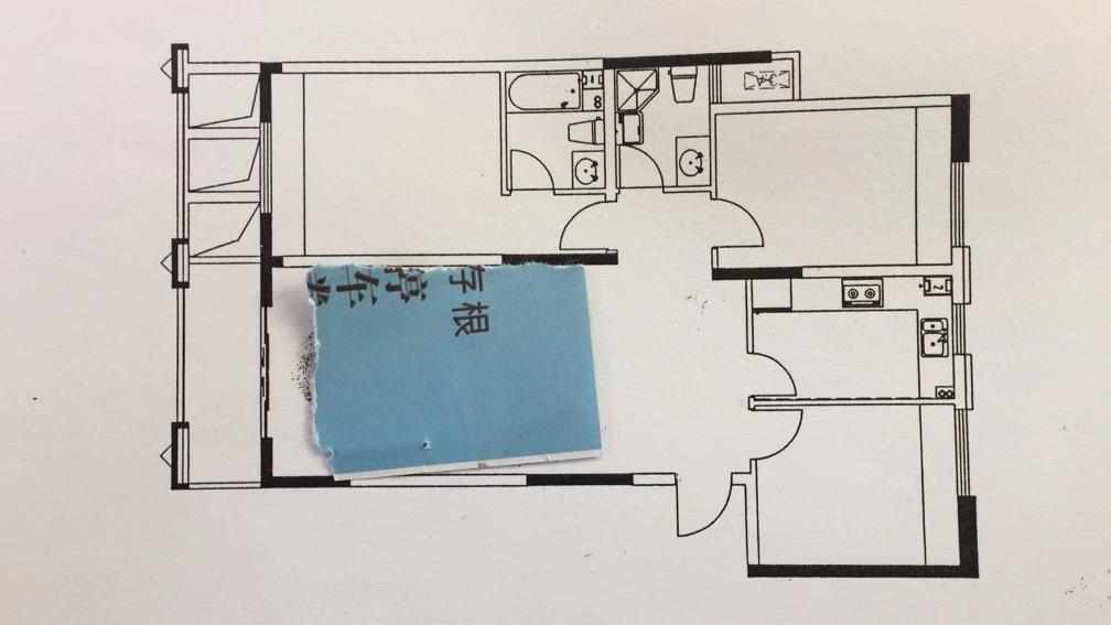 12157新昌翡翠公館15/24樓,120平方,3室2廳2衛,毛坯,2013年的房子,產證已滿2年,帶車棚116萬8,不帶車棚113萬8