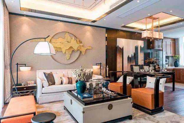 101㎡新中式三室设计,美腻了