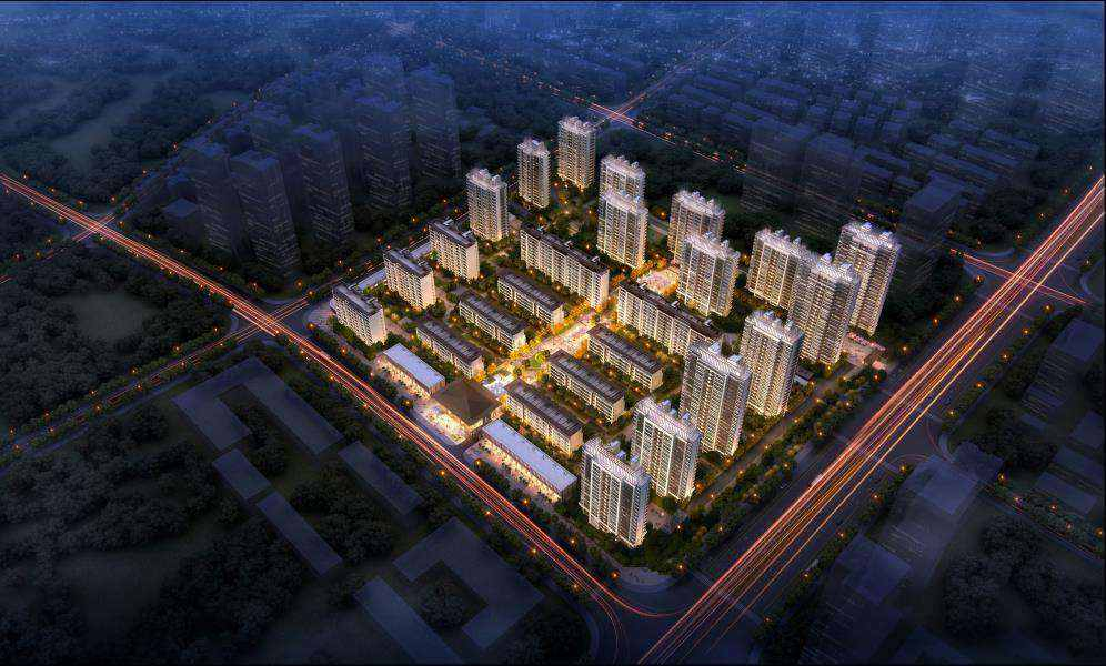 中国铁建官河府的实拍照片