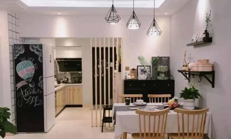 【装修精选】89㎡小户型三房,森系北欧风的设计,自然又文艺
