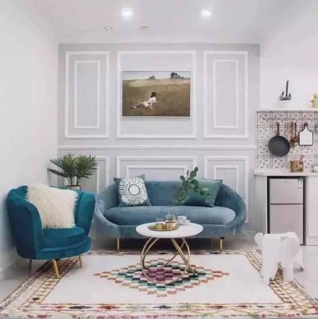 【装修精选】85㎡两居室,轻奢漂亮、有品位,太让人心动!