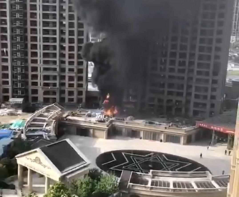 嵊州一工地泡沫板起火、柯桥一店面房起火。。。请记住这些防火注意事项