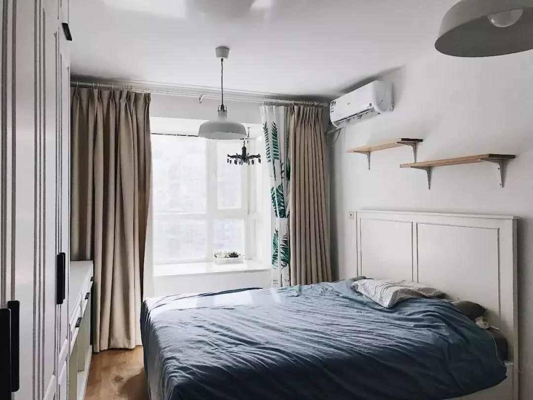 32㎡一字型单身公寓,面积虽小,但这样装也能很温馨舒适!