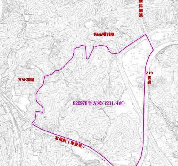 重磅!为加快城东区块开发建设,东门一大片红线控制范围公布…