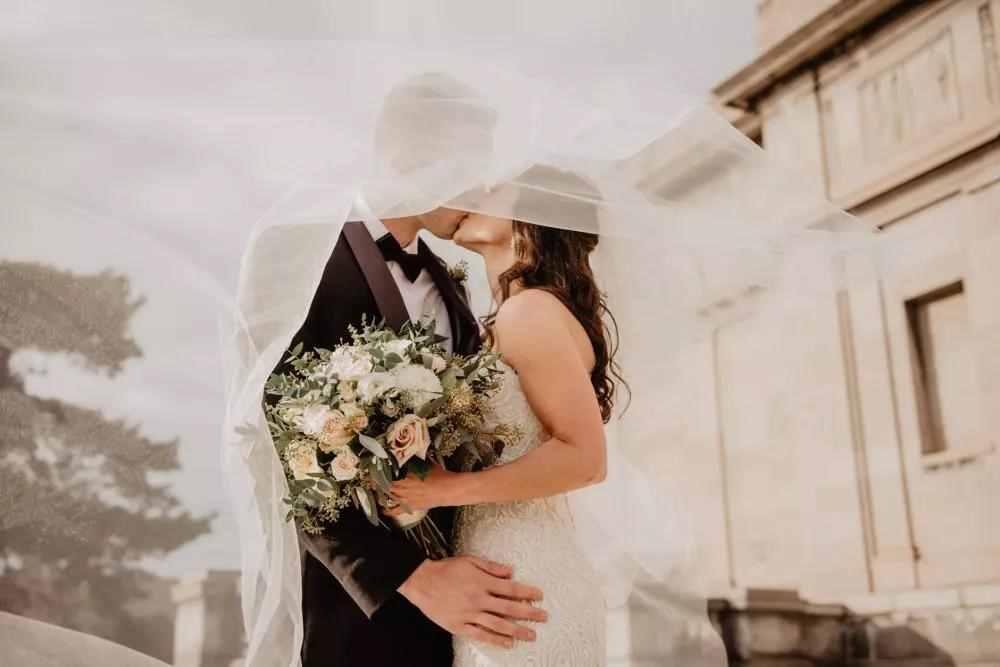 当婚纱邂逅婚房,映刻幸福的时光印记