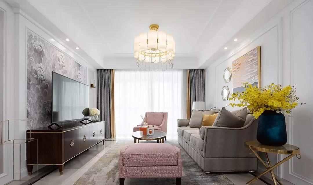【装修精选】143㎡森系美式4室2厅,用艺术美学诠释家的优雅