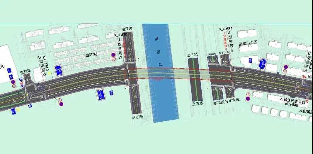 新昌首个过江隧道要开建啦!附近两条路实行交通管制!为期30个月……