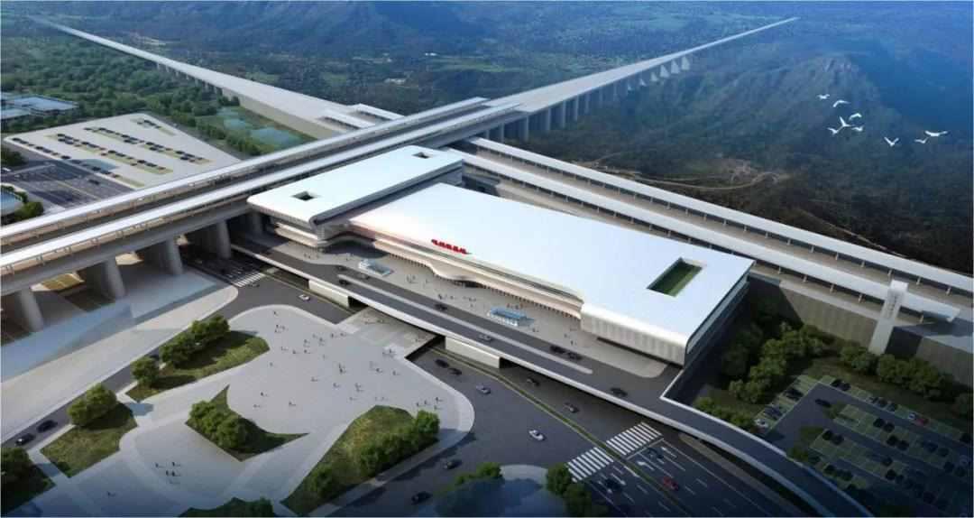 全国第二,全线唯一!嵊州新昌站建设全面启动!