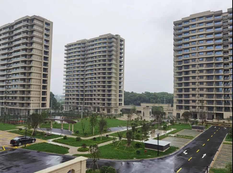 绍兴市最大人才公寓全面完工,下半年可投入使用