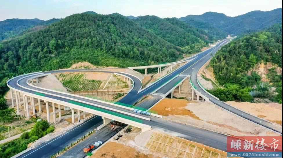 重磅!嵊州人都在关注的这条高速将在本月底通车啦!