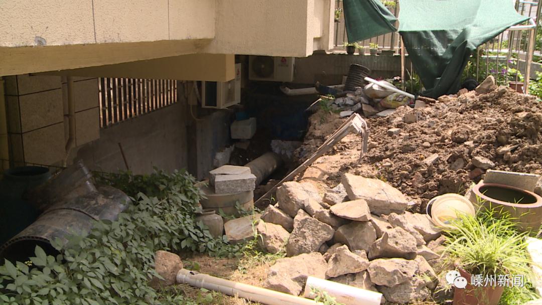嵊州这个小区绿化带破坏严重,多户业主干这事却不知是违法行为...