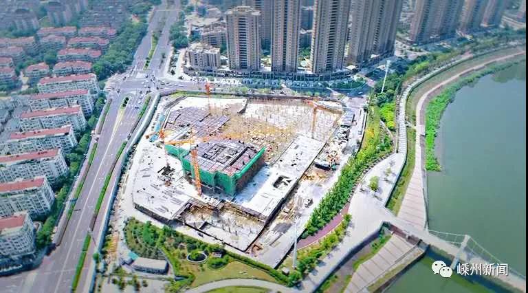 期待!嵊州这个大酒店项目进度已达40%!建成后将成为嵊新第一高楼!