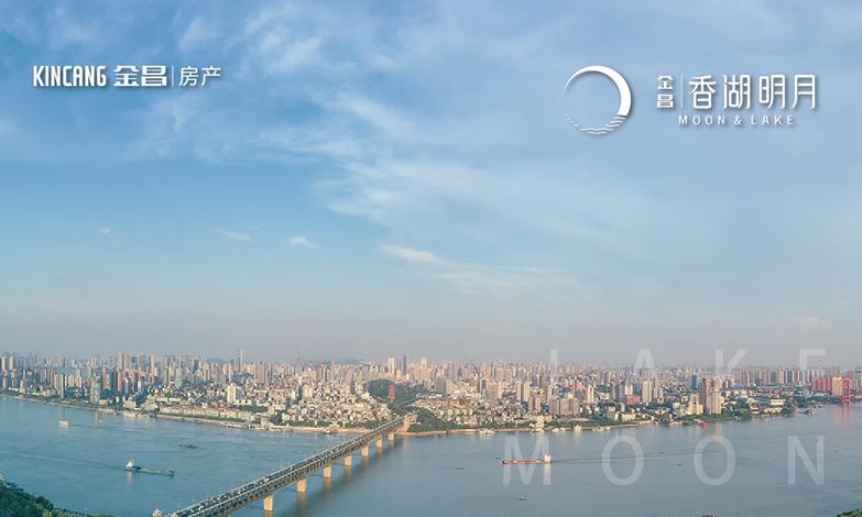 香湖明月|美妙3公里  三面环水大境