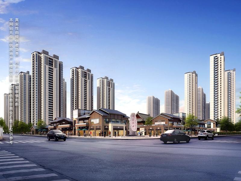 锦城商业中心的实拍照片