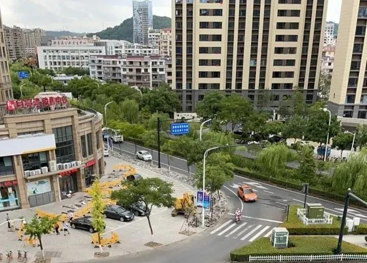 【新昌】为期2个多月,新昌七星这条路正式开始改造!又有两个公园要来了