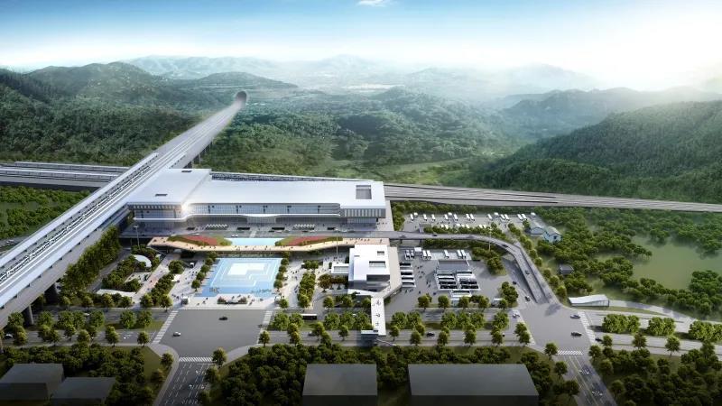总建面约87.56亩,嵊州新昌高铁站站前广场及换乘枢纽设计方案出炉!