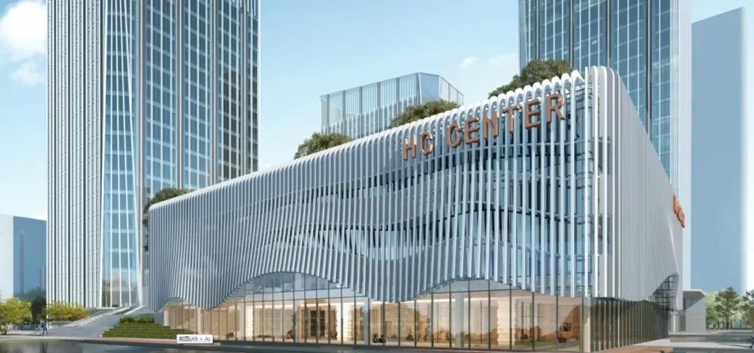 【新昌】这座商务大楼有望提前交付!北靠新昌火车站,4幢单体建筑,总建筑面积12.4万㎡